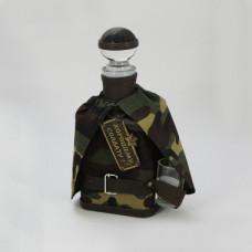 """Графин подарочный """" Хорошему солдату"""" с 1 рюмкой"""